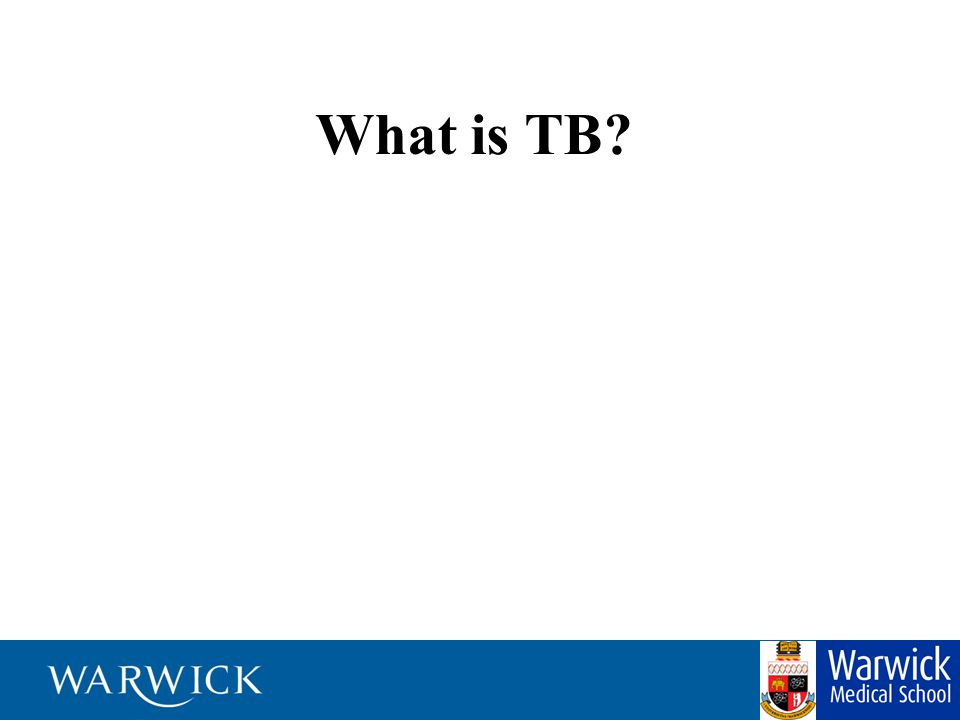 -Tuberculosis is a disease caused by tiny germs that enter your lungs when you breathe them in -TB germs are most commonly found in the lungs, but sometimes they can move to other parts of the body -When you have TB disease of the lungs, you can spread it to other people