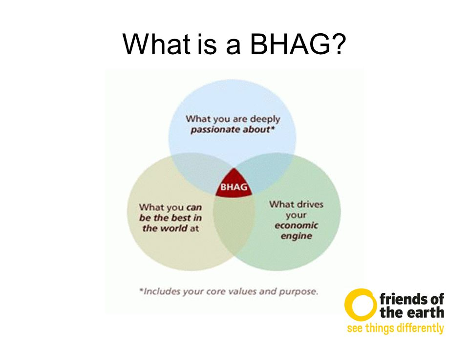 What is a BHAG