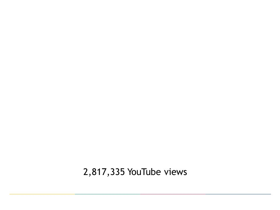 2,817,335 YouTube views