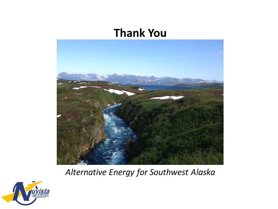 Thank You Alternative Energy for Southwest Alaska