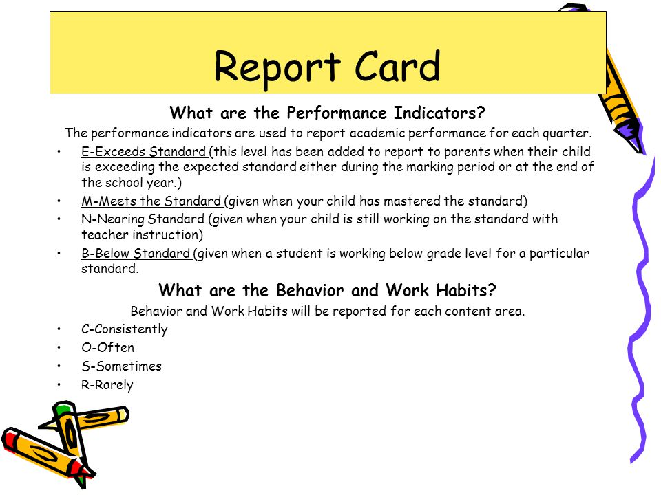 What are the Performance Indicators.
