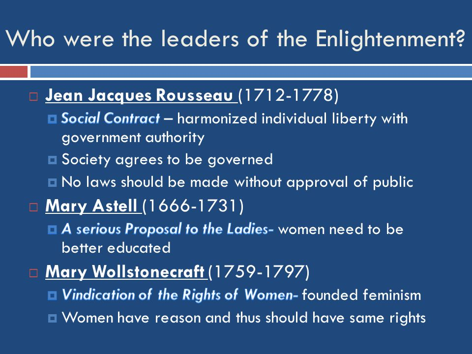 What social environment did Enlightenment thinkers thrive?