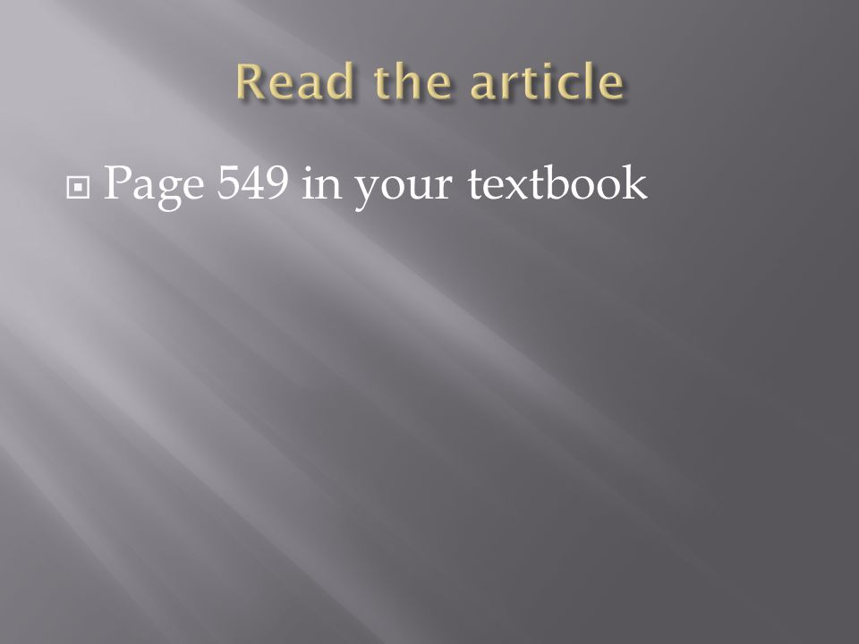  Page 549 in your textbook