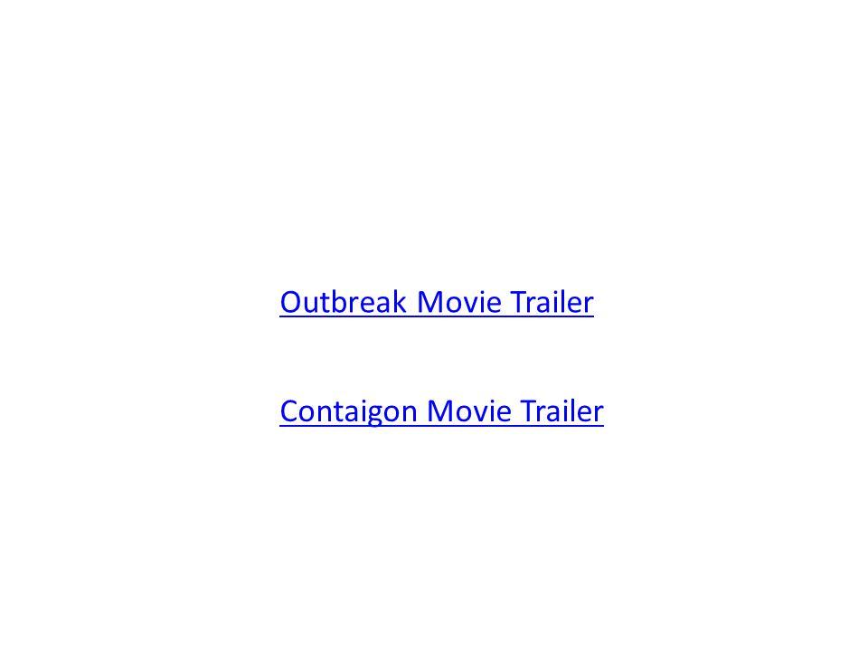 Outbreak Movie Trailer Contaigon Movie Trailer