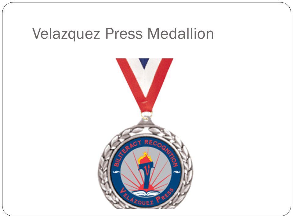 Velazquez Press Medallion