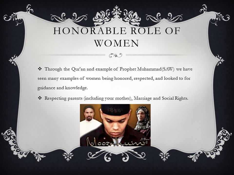 HONORABLE ROLE