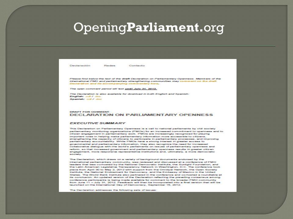 OpeningParliament.org