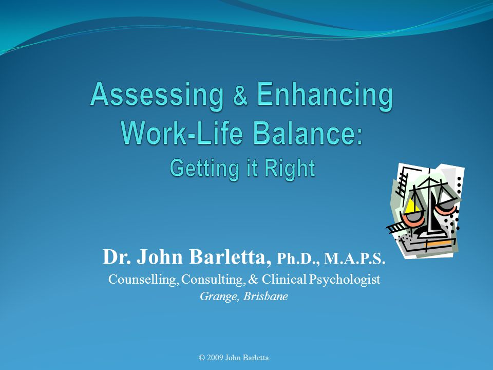Dr. John Barletta, Ph.D., M.A.P.S.