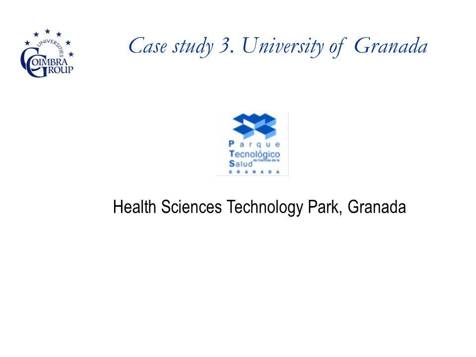 Case study 3. University of Granada Health Sciences Technology Park, Granada