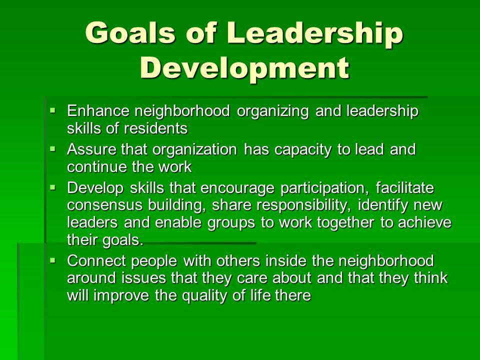 Our work  Organizing citizen involvement  Outreach  Develop coalition  Develop community plans