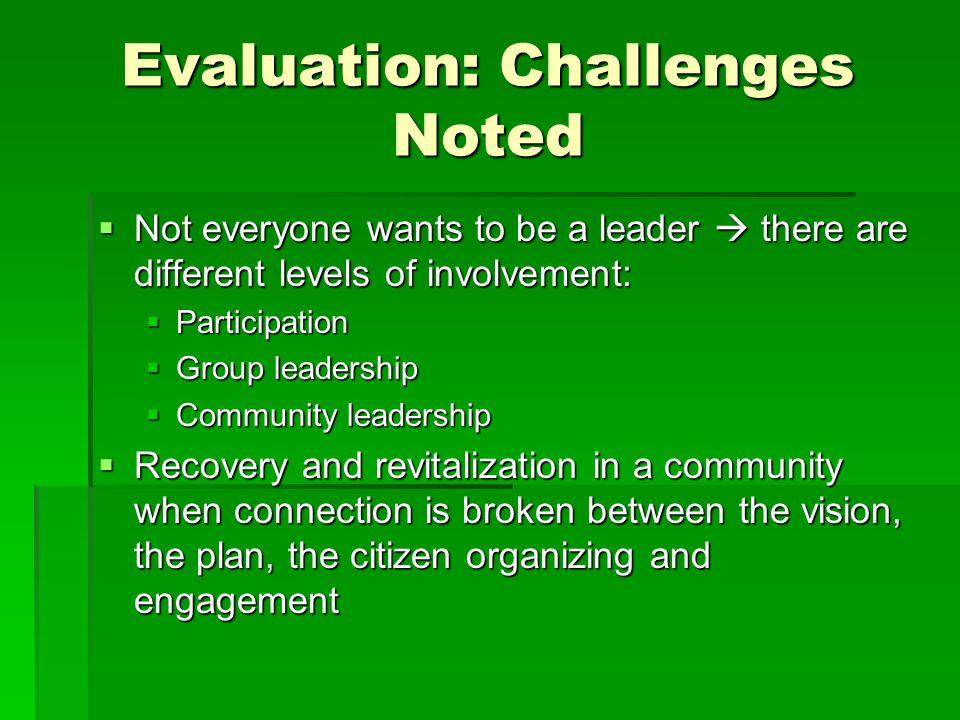 McElderry Park LeadershipTraining Activities