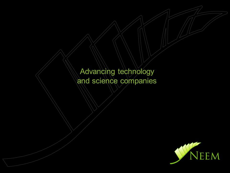 Advancing technology and science companies