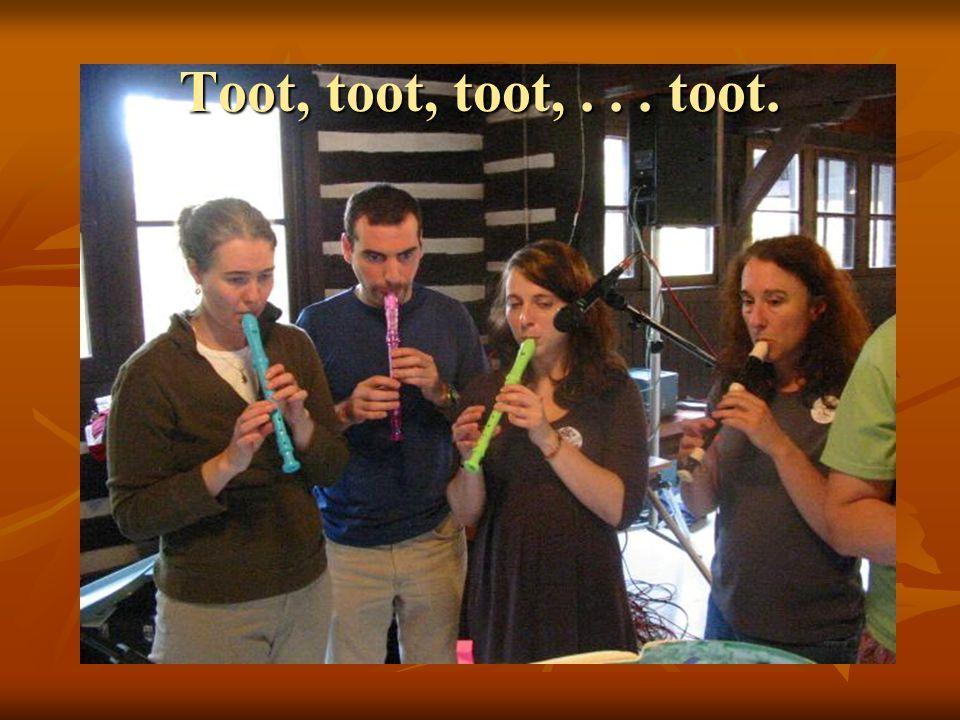 Toot, toot, toot,... toot.