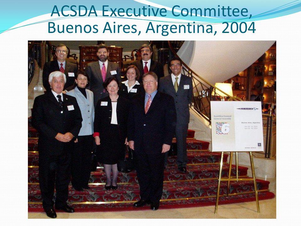 ACSDA Executive Committee, Buenos Aires, Argentina, 2004