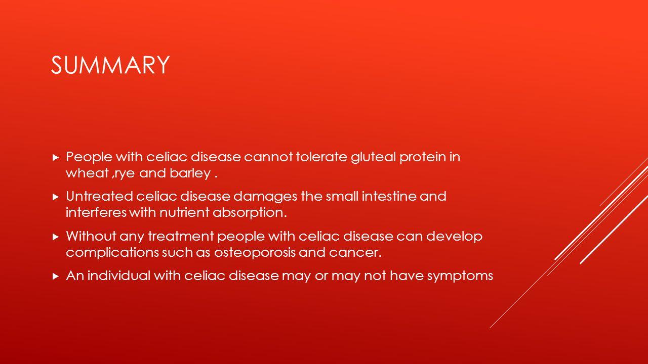 HOW'S CELIAC DISEASE DIAGNOSED .