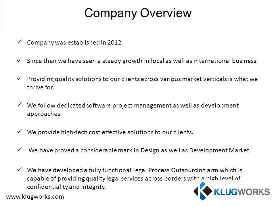 Process Flow Requirement Gathering Deployment Analysis Testing Development Definition www.klugworks.com