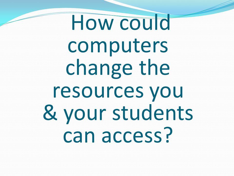 Teacher Resources Student Resources