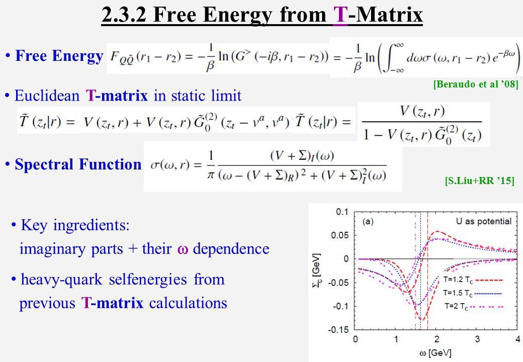 4.) Charmonium:  (3686) easily dissociated in hadronic matter: , ,...