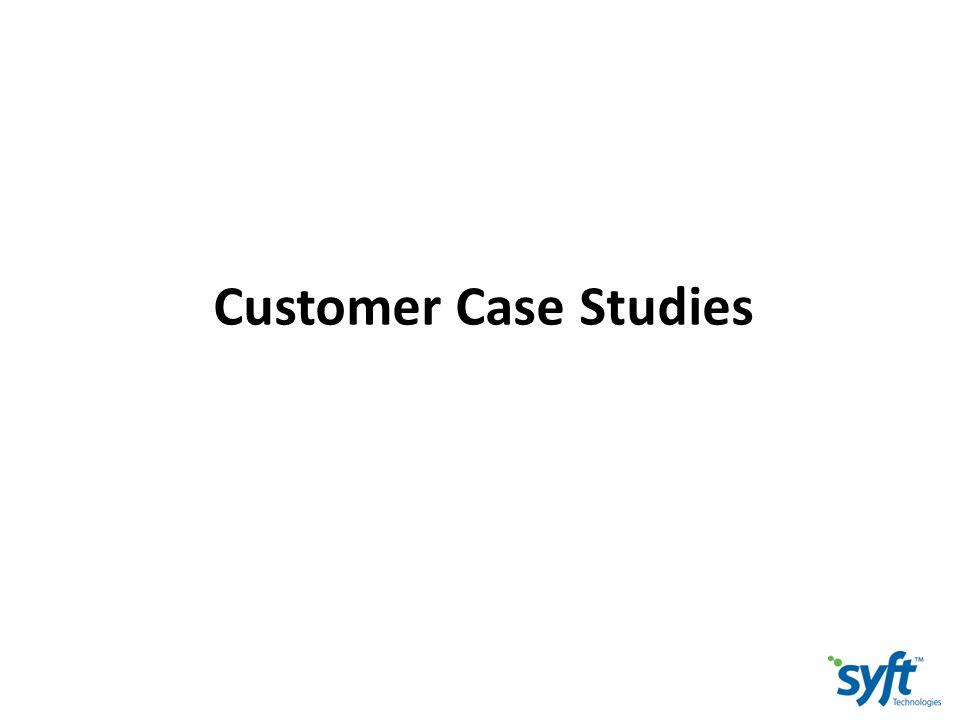 Customer Case Studies