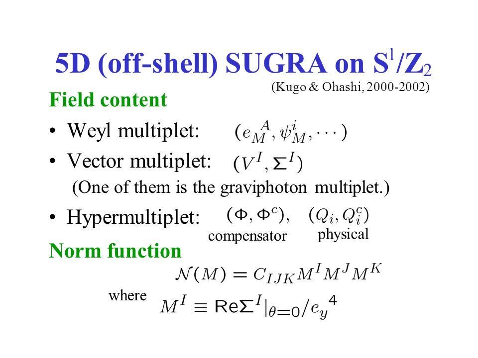 5D Lagrangian bulk part (bulk mass) (gauge coupling) =