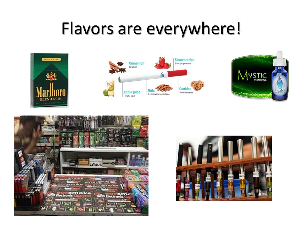 Flavors are everywhere!
