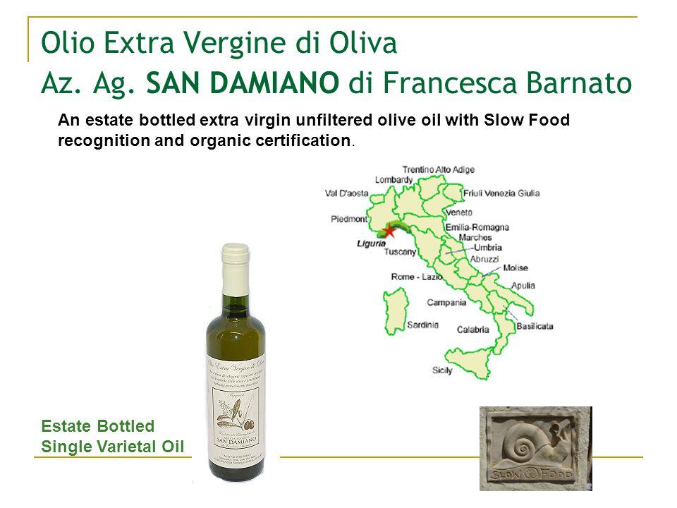 Olio Extra Vergine di Oliva Az. Ag.