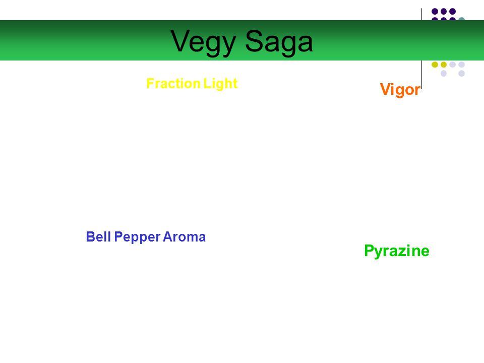 Fraction Light Vigor Pyrazine Bell Pepper Aroma Vegy Saga