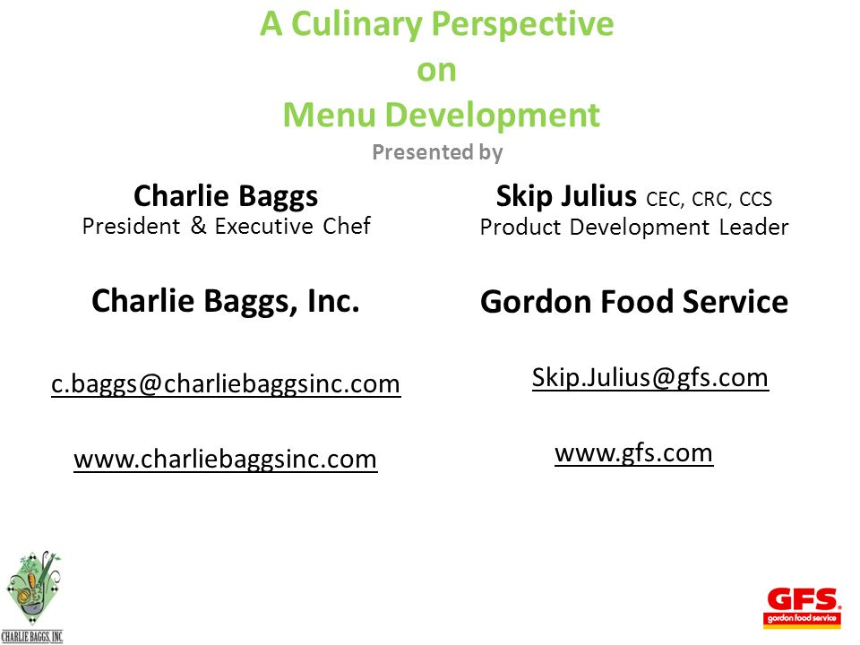 52 To Summarize Your menu is the most important thing you have. Never take it for granted!