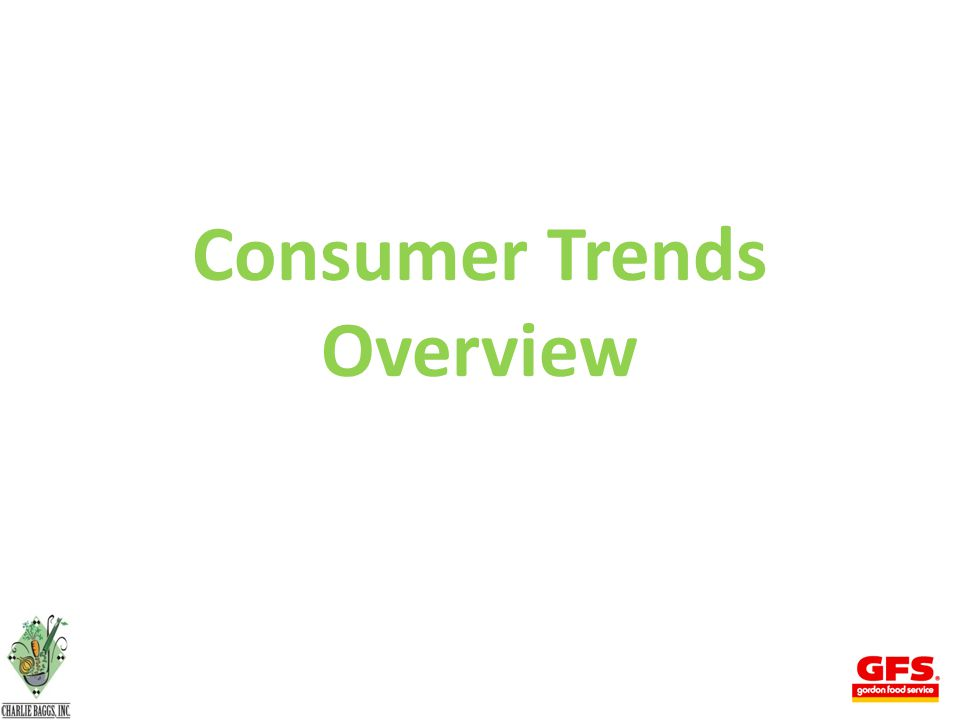 Consumer Trends Overview
