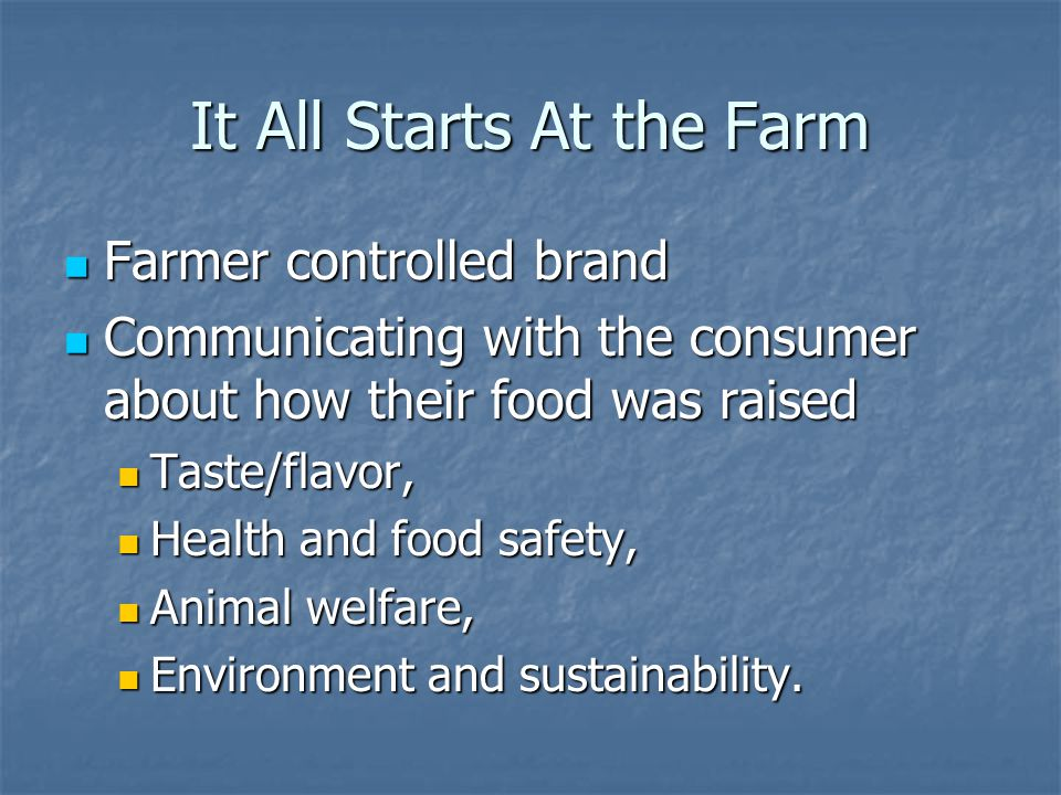 Sustainability At Heritage Acres, each of our farm families practice sustainable production that preserve our environment, our health and our communities At Heritage Acres, each of our farm families practice sustainable production that preserve our environment, our health and our communities