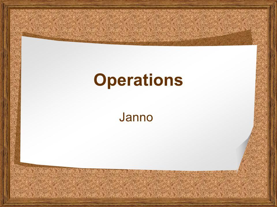 Operations Janno