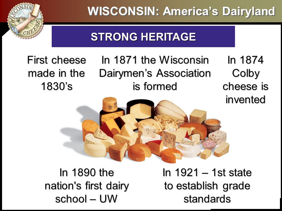 Stop the Press – So What We can share all kinds of great attributes and specific styles and varieties of Wisconsin Cheese – but what needs to happen before you start using cheese?