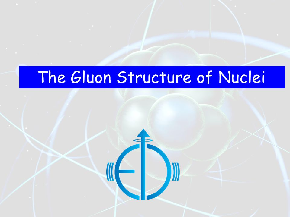 The Gluon Structure of Nuclei