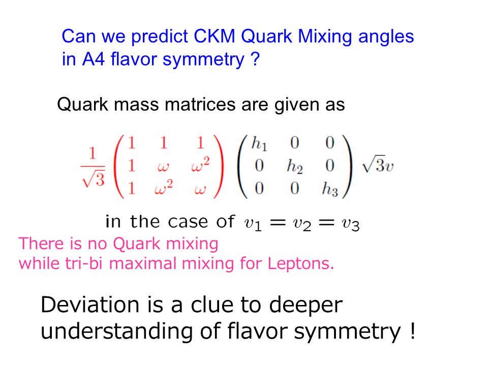 Can we predict CKM Quark Mixing angles in A4 flavor symmetry .