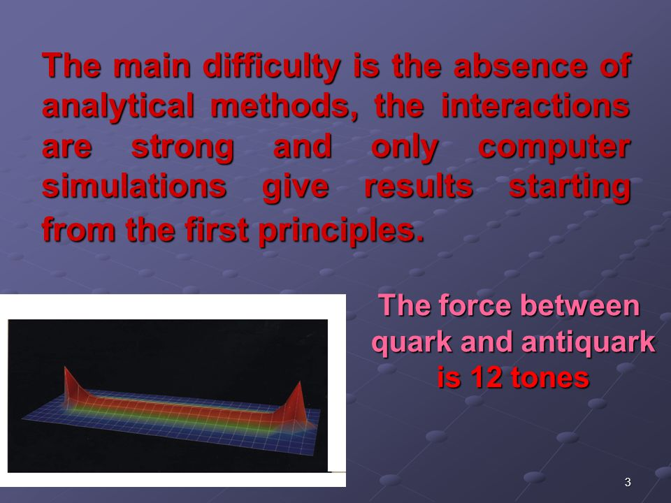 4 Methods Imaginary time t→it Space-time discretization Thus we get from functional integral the statistical theory in four dimensions
