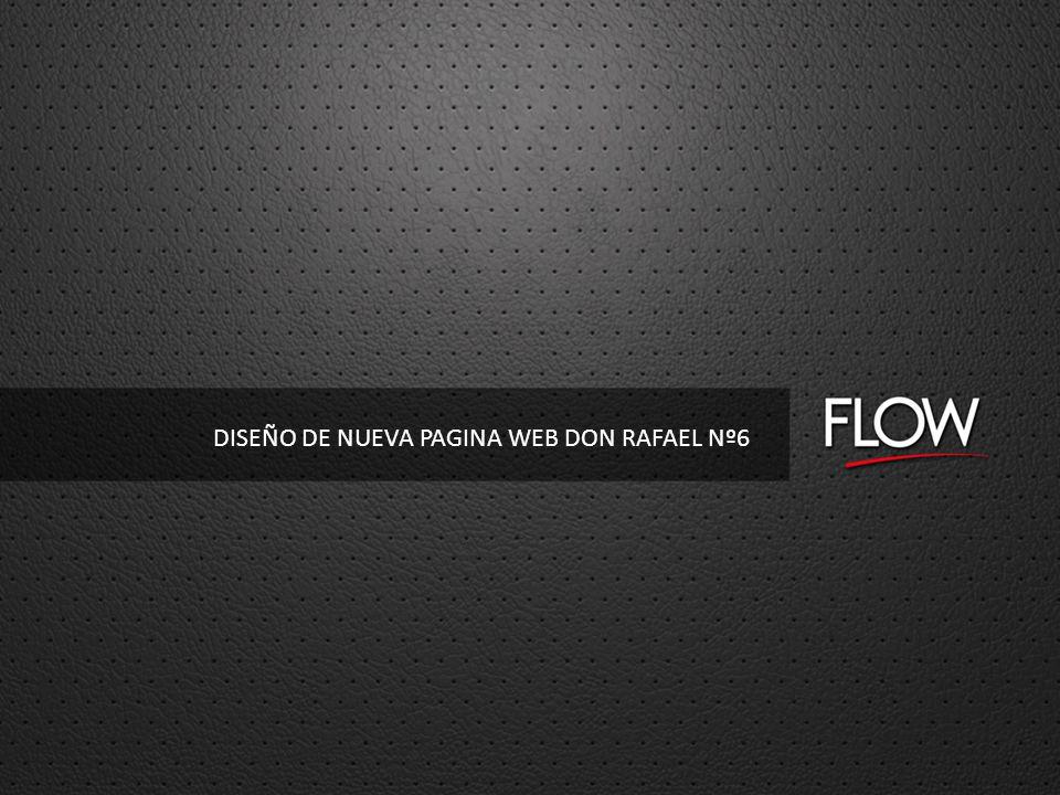 DISEÑO DE NUEVA PAGINA WEB DON RAFAEL Nº6