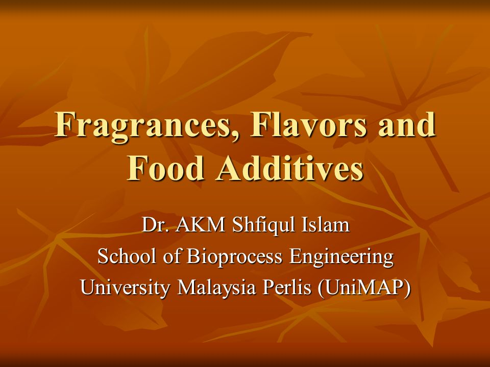 Creation of acceptable fragrances It require professional knowledge It require professional knowledge Use of available raw materials, both natural and synthetic Use of available raw materials, both natural and synthetic Use of a variety of new types of products requiring fragrances Use of a variety of new types of products requiring fragrances Innovations in packing, e.g., aerosol sprays, perfume powders, cream sachets, gels, lotions, and sticks Innovations in packing, e.g., aerosol sprays, perfume powders, cream sachets, gels, lotions, and sticks