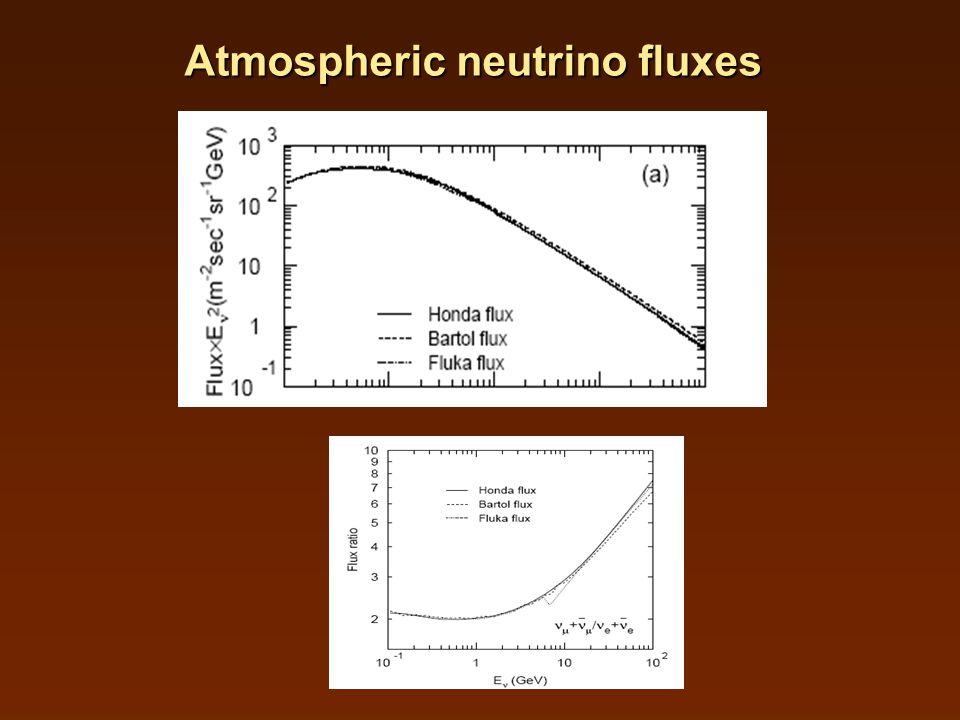 Atmospheric neutrino fluxes