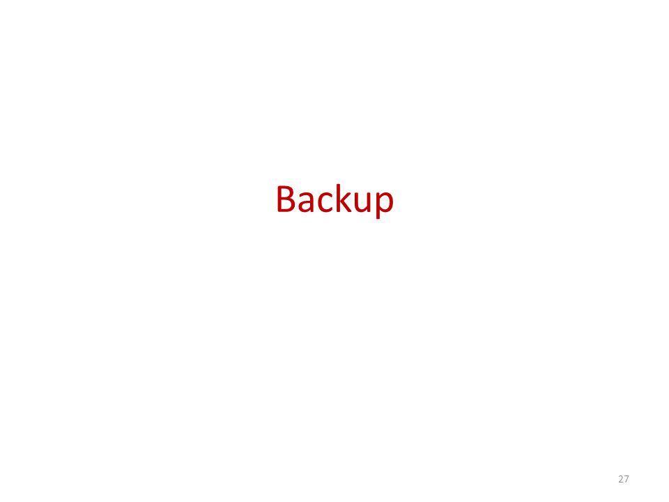 Backup 27