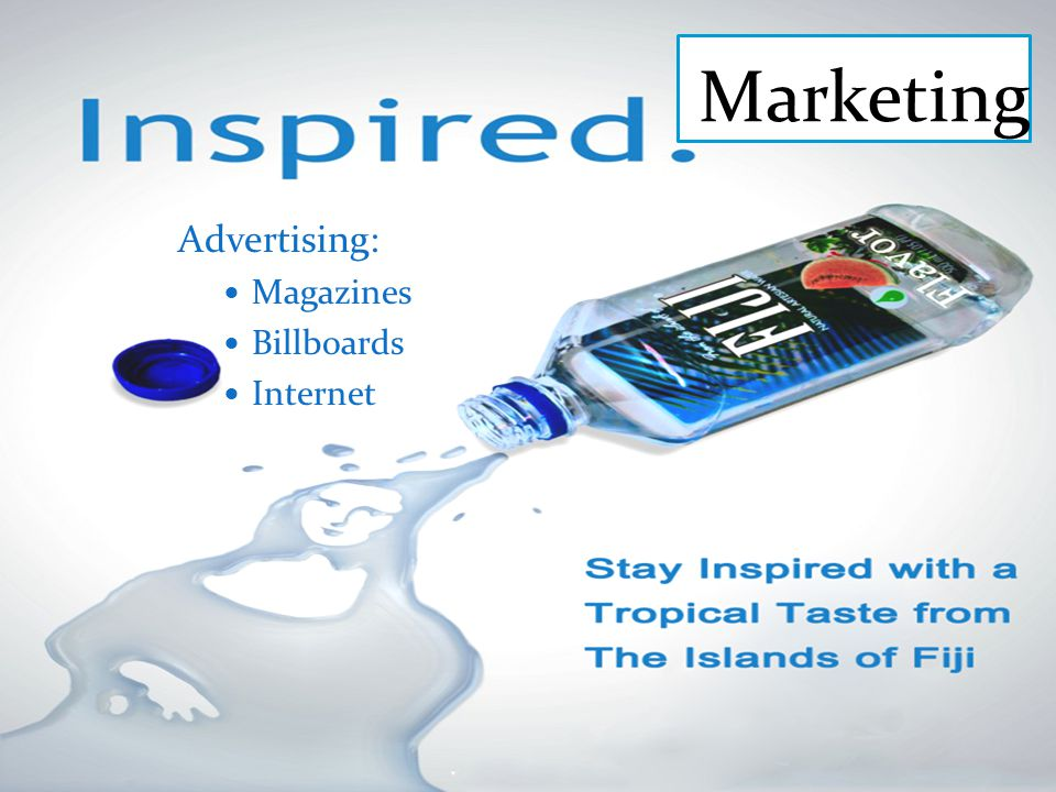 Marketing Advertising: Magazines Billboards Internet