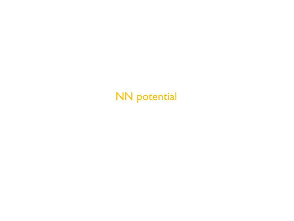 NN potential