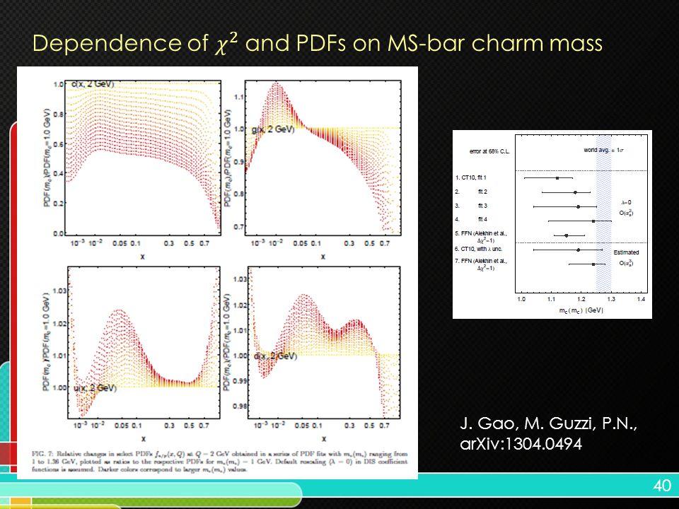 40 J. Gao, M. Guzzi, P.N., arXiv:1304.0494
