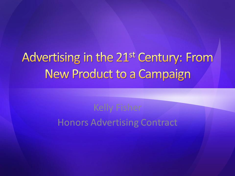 Kelly Fisher Honors Advertising Contract