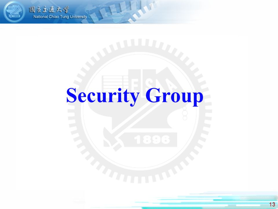 13 Security Group