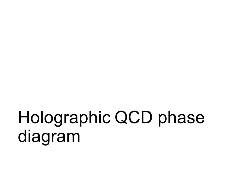 Holographic QCD phase diagram
