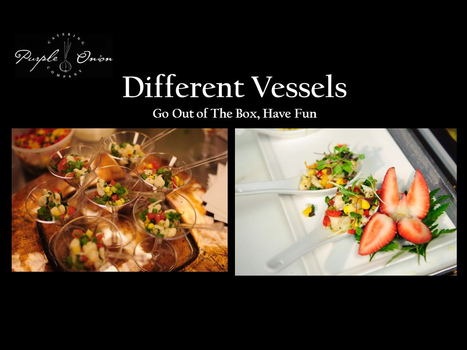 Different Vessels Go Out of The Box, Have Fun