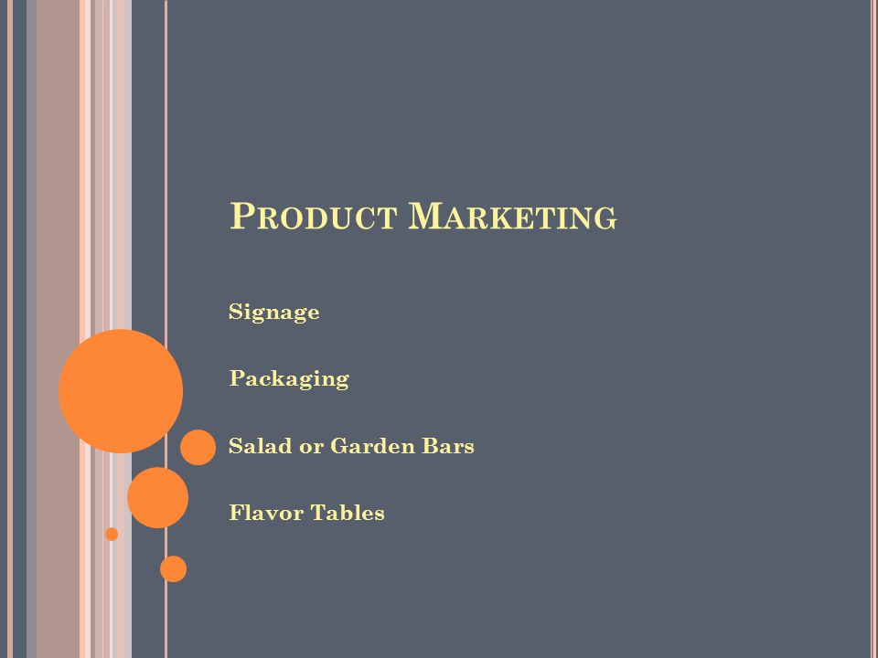 S IMPLE PRODUCT PACKAGING VS C OMBINED PRODUCT WITH DRESSING