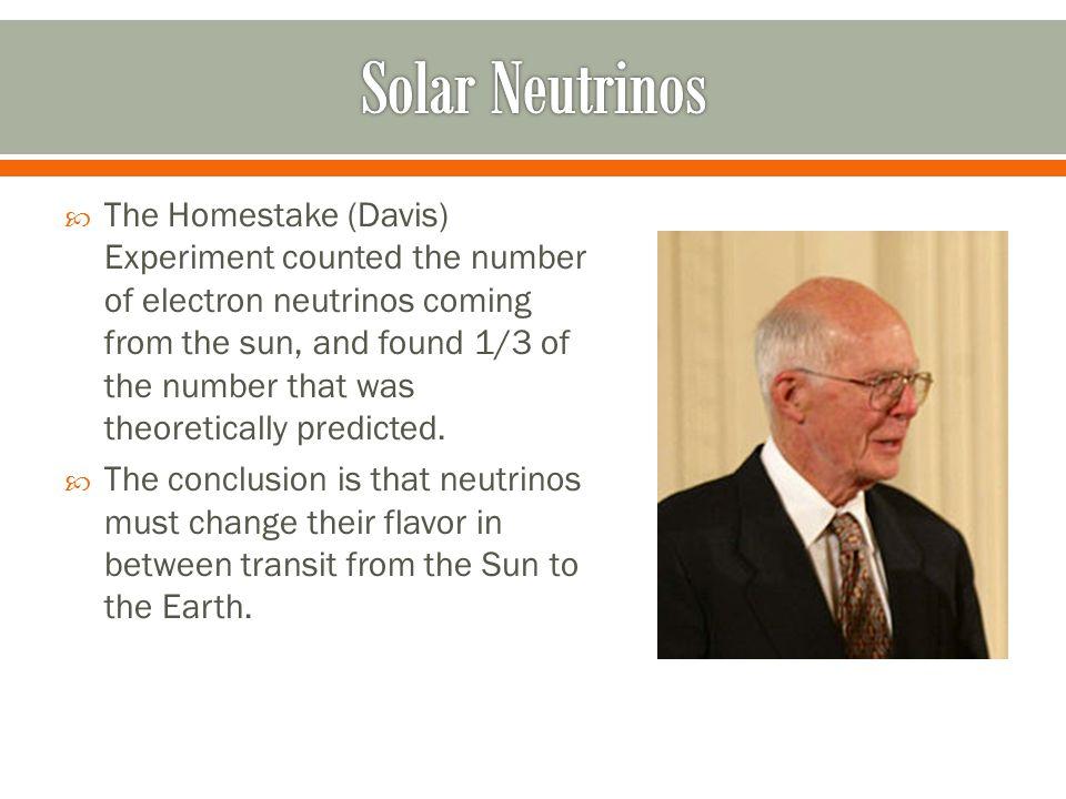  1) To detect the oscillation of muon neutrinos to electron neutrinos.