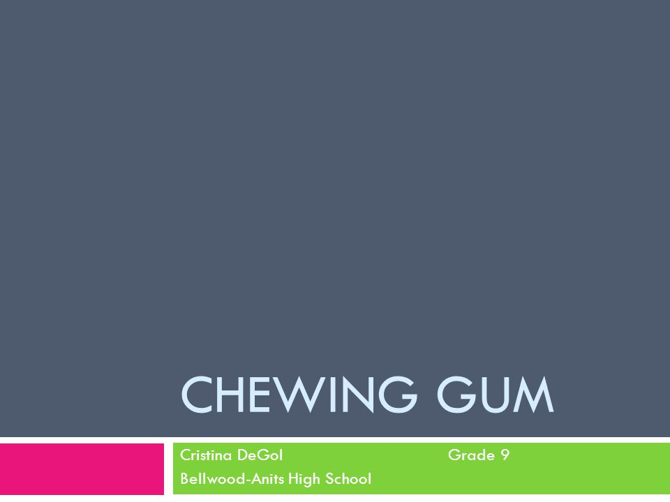 Problem  What flavor of Orbit gum keeps its flavor the longest while being chewed: Cinnamint, Spearmint, or Bubblemint?
