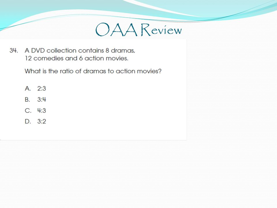 OAA Review
